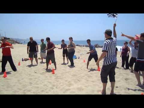 Team Building Beach Picnic Games #DIALM #Teambuilding #LosAngeles
