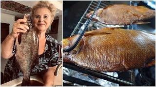 Моя мама РЫБАК Такую рыбу в магазине не купишь ВЯЛЕНО КОПЧЕНЫЙ ЛЕЩ Особый деликатес К ПИВУ