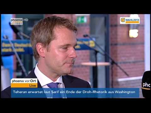 LTW Bayern: Daniel Bahr am 16.09.2013