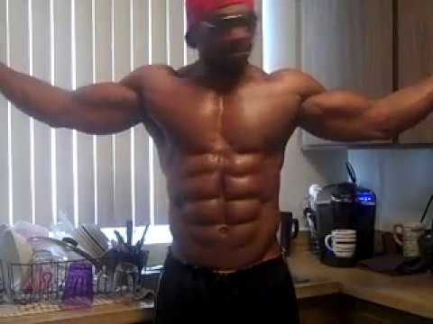 8 Pack Abs Hitch Flexing Part 4