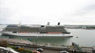 MV Celebrity Eclipse marks the 500th cruise liner to call to Port of Cork