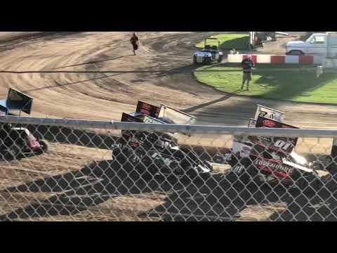 Delta Speedway 9/1/19 Jr Sprint Heat 2A- Cash