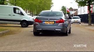 Baixar 2x 2013 BMW M5 F10 w/ Akrapovic Exhaust LOUD Acceleration Sounds!!
