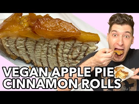 Vegan Apple Pie Cinnamon Rolls!