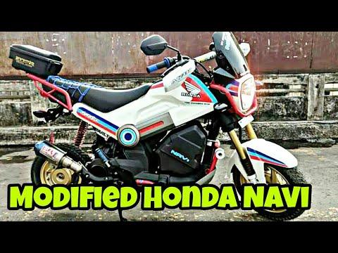 Meet Hooligan - Modified Honda Navi Into Adventure Tourer By YC Design