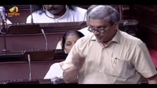 Defense Minister Manohar Parrikar clarifies about Ordnance Factories in Rajya Sabha