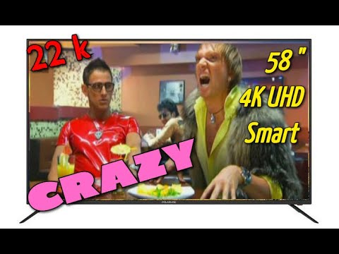 Самый дешевый телевизор 58 дюймов за 22 тысячи \ Обзор Polarline 58pu55stc-sm 4k Smarttv