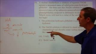 2016 National Chemistry Olympiad Exam Solutions 1-10
