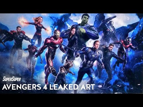 Avengers 4 Leaked Concept Art Biggest Reveals Explained | SuperSuper
