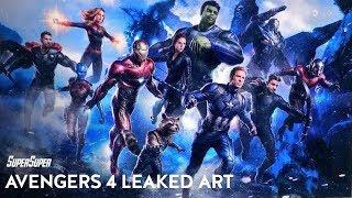 Avengers 4 Leaked Concept Art Biggest Reveals Explained | SuperSuper