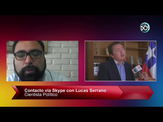 Lucas Serrano, Cientista Político. Director Centro de Estudios, Observa Biobío