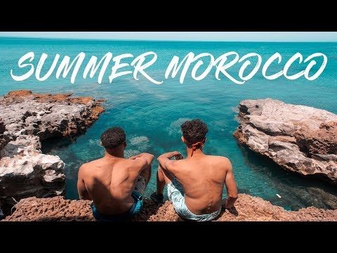 Summer Morocco : Charrana & Carablanca & Taghazout & Paradise Valley & Lac Marouani &