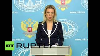Russia: Foreign Ministry slam UK