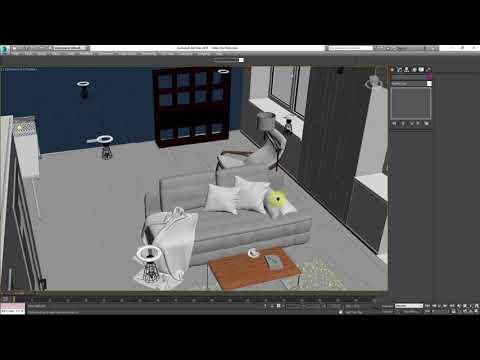 Проект и реализация интерьера. Revit и 3ds Max. Часть 2.