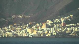 La Palma aus Seesicht - die Kanarische Insel gefilmt von der AIDA Cara