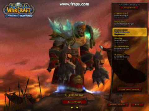 public test realm chars in wow