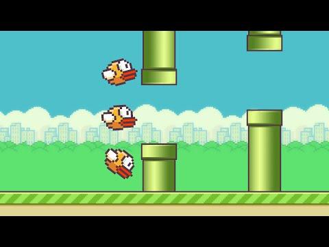 Kompjuter Uči Da Igra Flappy Bird