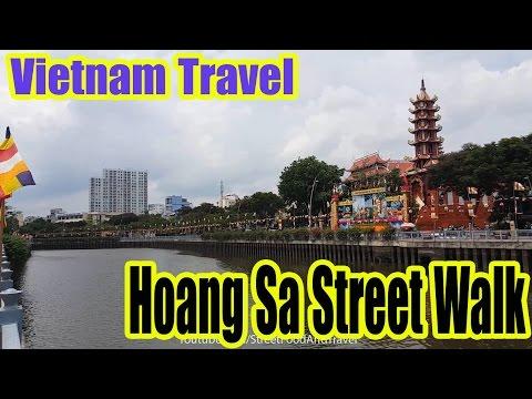 Vietnam Travel - Hoang Sa Street Walk - Festival Buddha's Birthday 2017