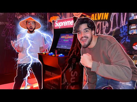 SUPREME X MORTAL KOMBAT ARCADE1UP UNBOXING! ONLY 2400 IN THE WORLD! from Marco and Alvin