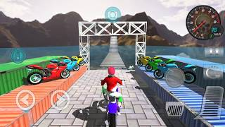 Bike Racing Games - Racing In Moto Bike Stunt Race - Gameplay Android free games