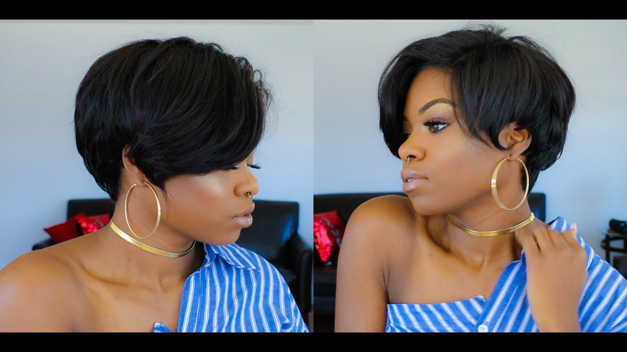 how to self cut long pixie
