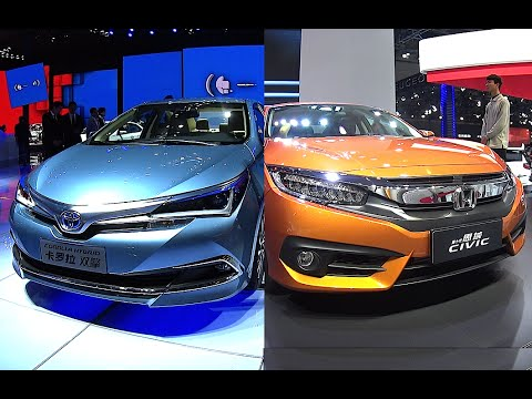 2016 2017 Honda Civic Vs New Toyota Corolla All Model