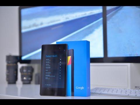 Google Nexus 7 2013 Full Review
