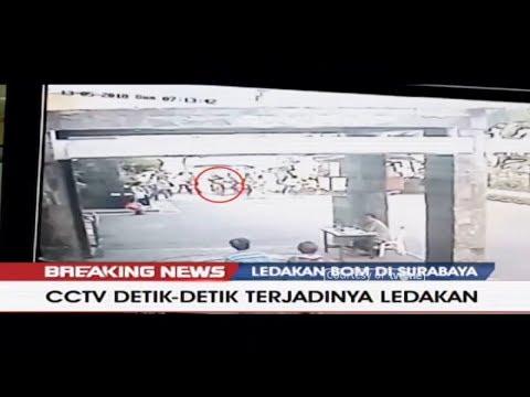 CCTV Detik-Detik Terjadinya Ledakan