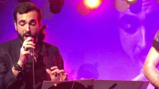 Letter to Hermione (David Bowie) - Marco Mengoni live a Web Notte - Roma 20/01/2015 - Video HD.