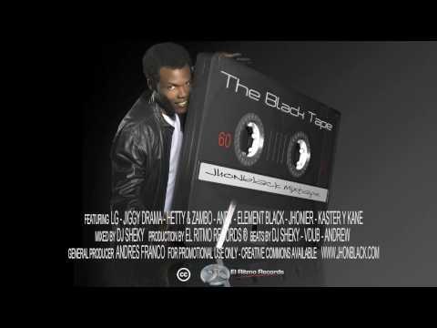 Ver Video de Jiggy Drama 07 Asi Asi - Jhonblack (The Black Tape) Feat. JIggy Drama and Mr. Andy