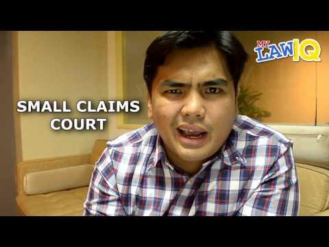 MYLawIQ - EP2.1: - Small Claims Court, Demand