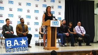 Stephanie McMahon, The Miz and other Superstars & Divas spread the Be a STAR message: March 27, 2015