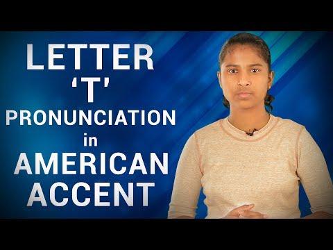 Letter 'T' Pronunciation in American Accent  | Wonder Girl | Janhavi Panwar