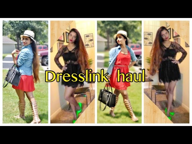 Dresslink online store try on haul & review