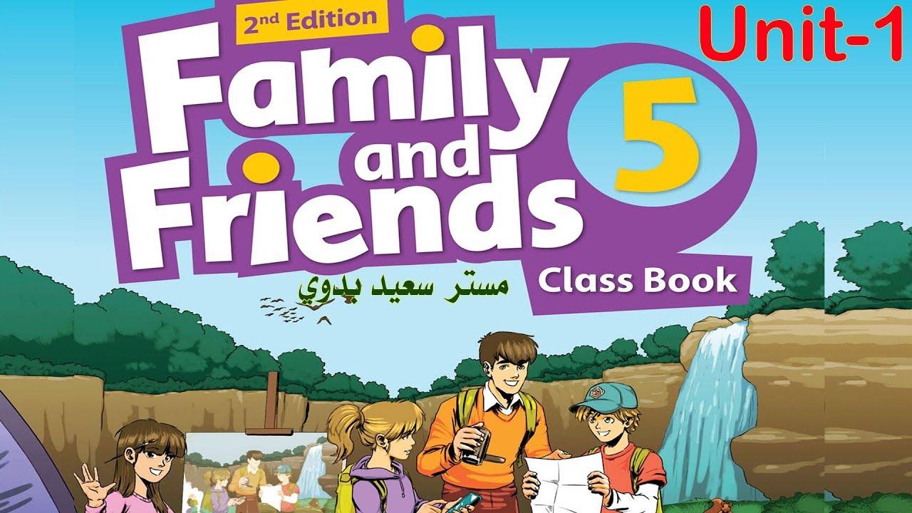 حل كتاب family and friends 6