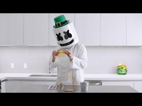 Belanga Penuh EMAS!! | Memasak Bersama Marshmello (Spesial Hari St. Patick - Cokelat Emas)