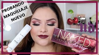 PROBANDO MAQUILLAJE NUEVO NAKED CHERRY COLLECTION / MOIRA COSMETICS GABBYGMAKEUP