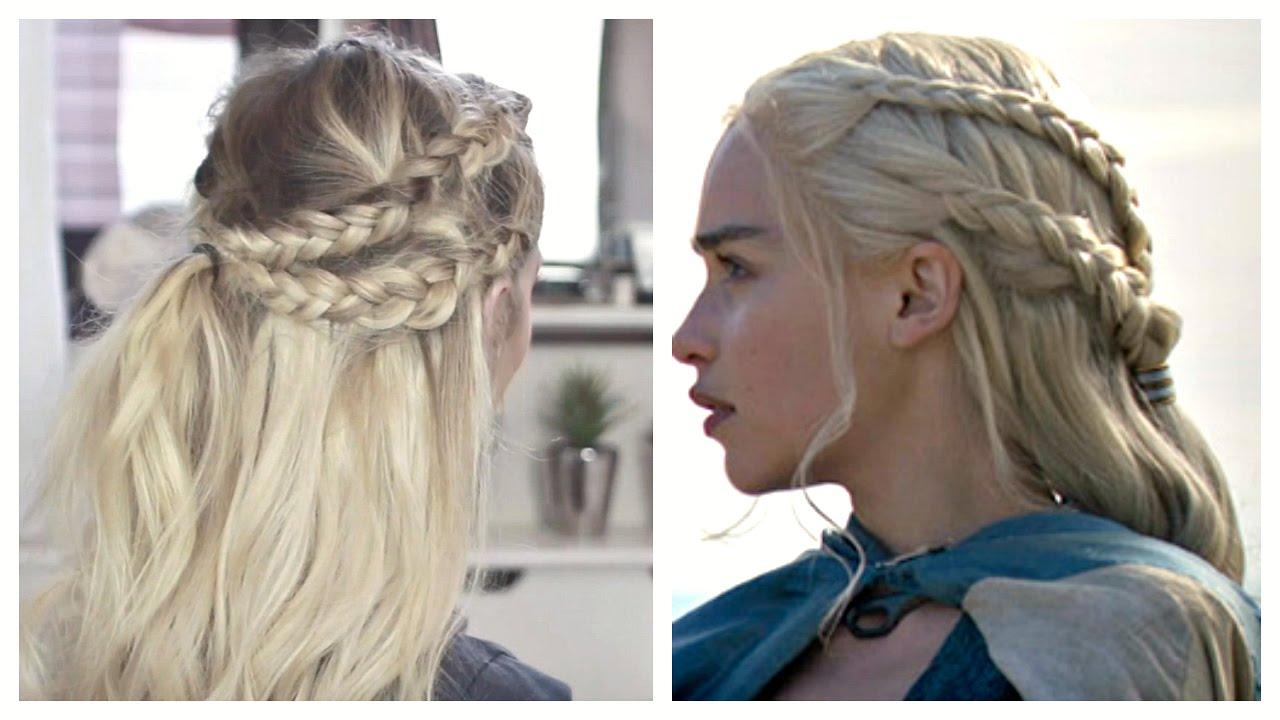 game of thrones - daenerys targaryen hair tutorial