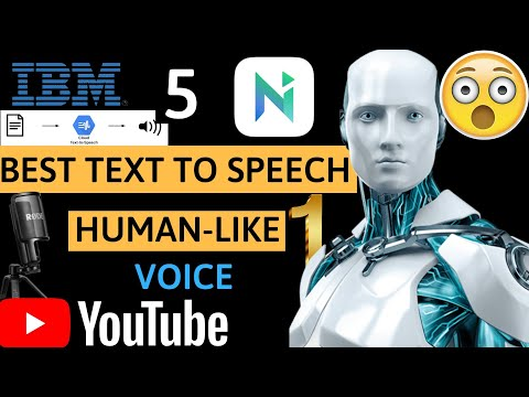 5 Best Text To Speech Software For YouTube Videos (#1 Real Human Voice) 2020/2021