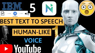 5 Best Text To Speech Software For YouTube Videos (#1 Real Human Voice) 2020/2021 screenshot 1
