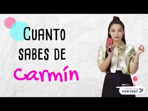 QUIZ ¿Cuánto Sabes De Carmin?