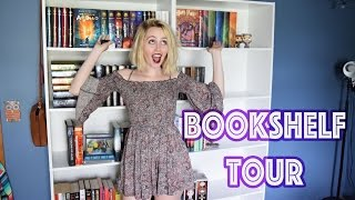 BOOKSHELF TOUR | MAY 2016(WELCOME TO MY BOOKSHELF! I hope you guys enjoy this tour of my not-so-beautiful bookshelf! I have lots more books that I couldn't show you because I ..., 2016-05-21T00:21:10.000Z)
