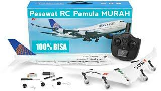 PESAWAT RC MURAHAN TAPI JOS - RC BOEING 747 + PENGUMUMAN GIVEAWAY QUADCOPTER