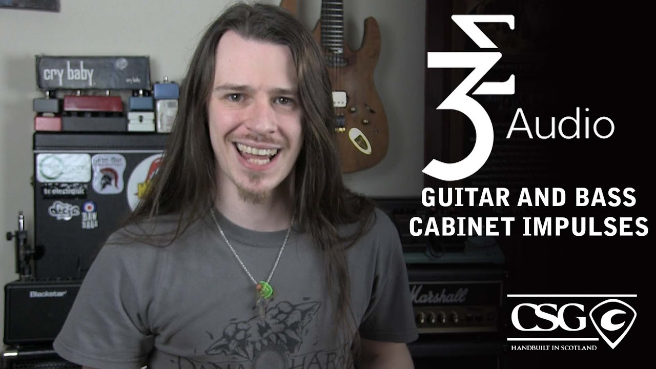 3 Sigma Guitar and Bass Cabinet Impulses - YouTube