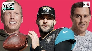 Simms Takes Credit for Blake Bortles' Early Success   Simms & Lefkoe: The Show