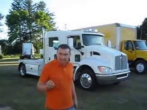 New Kenworth Crew Cab - YouTube