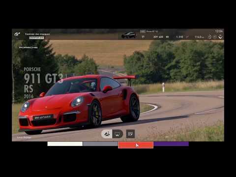 """Gran Turismo Sport - Présentation de Ma Porsche 911 GT3 RS 2016 """"720p"""" Ps4"""