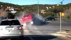 Dump truck wreck. Springfield Mo. MUST WATCH!!
