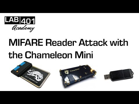 Chameleon Mini: Mifare Cracking via the Reader Attack – Lab401