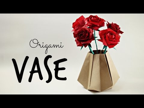 How to make an Origami Vase (Tadashi Mori) from YouTube · Duration:  12 minutes 8 seconds